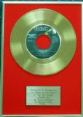 Elvis Presley - 24 Carat Gold 7 inch Disc - Loving You (For USA Sales)